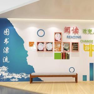 校园文化背景墙设计